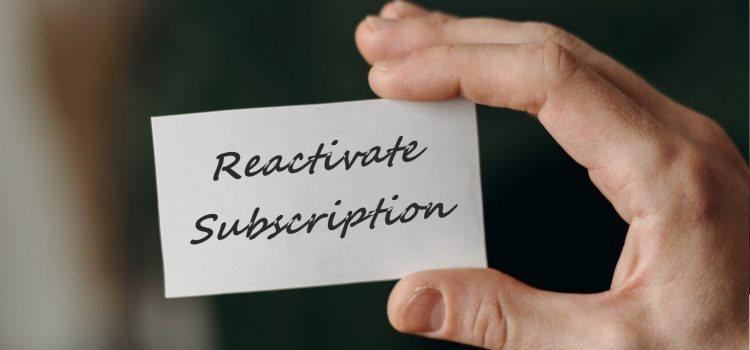 How To Reactivate Smodin Subscription
